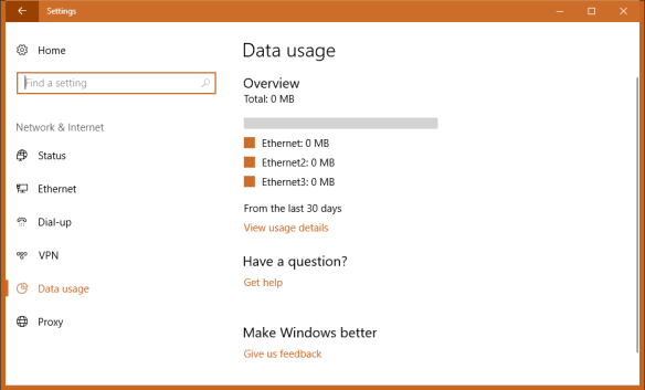 Settings Network Data Usage 600x363 - Windows 10 Tip: How To Reset Data Usage to Start Fresh