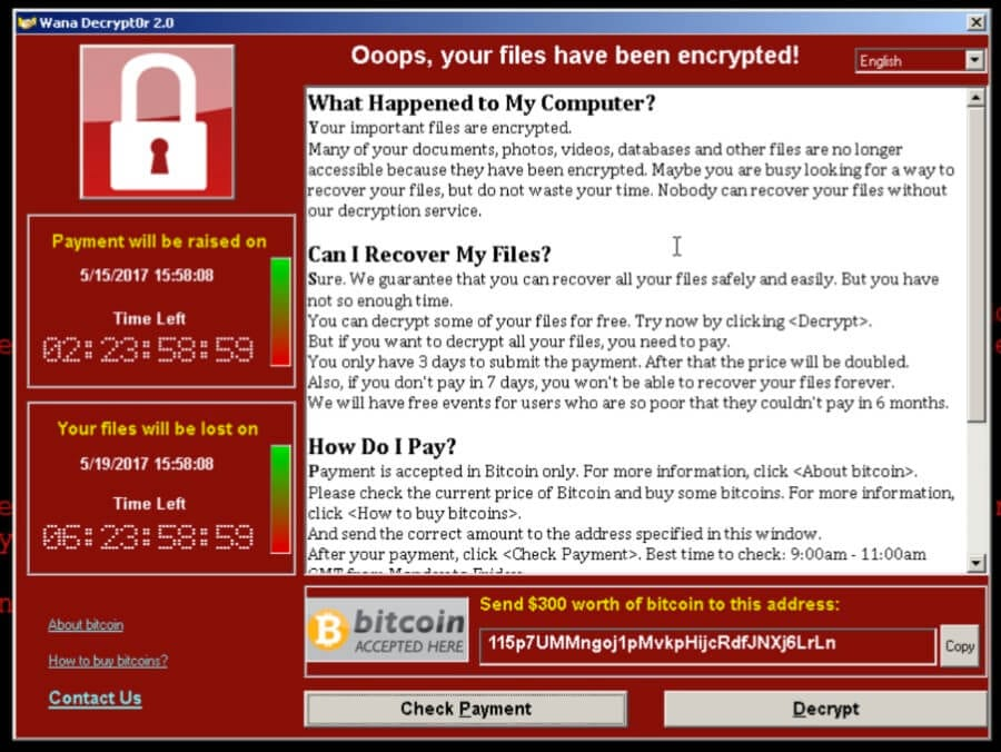 What Windows Patches Needed to Prevent WannaCry Ransomware