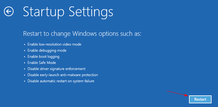 Boot to Safe Mode Troubleshoot Advanced options Startup Settings Restart - How To Boot To Advanced Startup Settings Automatically on Windows 10