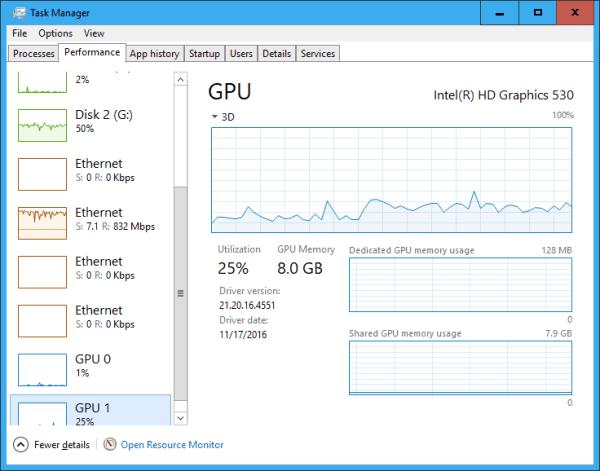 Task Manager Performance GPU - Windows 10 New Feature: Tracking GPU Usage Performance