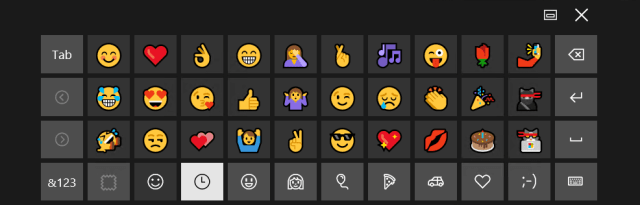 Windows 10 Emoji 2 from Touch Keyboard - How To Use Emoji Natively on Windows 10