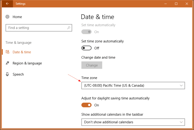 Windows 10 Settings date time - Windows 10 Tip: Where to Check and Set Time Zone on My Computer