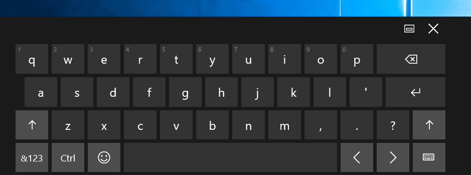 how to bring up the emjoy keyboard