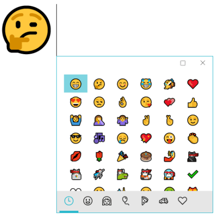 Windows 10 emoji new layout - How To Use Emoji Natively on Windows 10