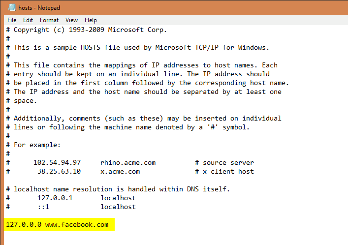 hosts Notepad - Windows 10 Tip: How To Block a Website without 3rd Party Software