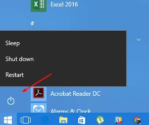 Windows 10 start menu power option - How Many Ways to Shut Down and Restart Your Windows 10 Computer