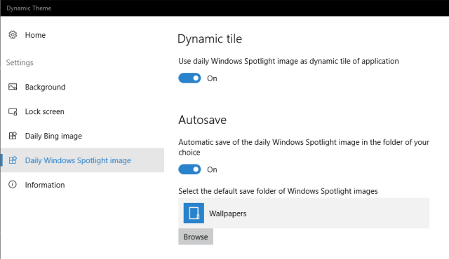 Dynamic Theme - Daily Windows Spotlight images