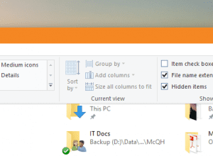 File Explorer - open Options