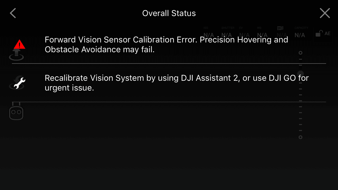 How To Calibrate DJI Mavic Pro Vision System with DJI