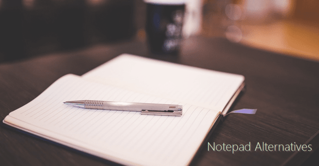 Notepad Alternatives Splash - 4 Best Free Notepad Alternative Text Editors of 2017 for Windows