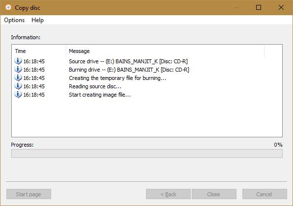AnyBurn - Copy disc