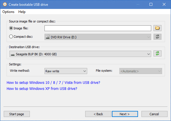 AnyBurn bootable USB - AnyBurn - All-in-One Free Solution to CD/DVD/Bluray Burning and Imaging