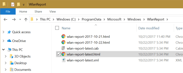 2017 10 22 18 31 42 WlanReport - How To Generate A WiFi History Report in Windows 10