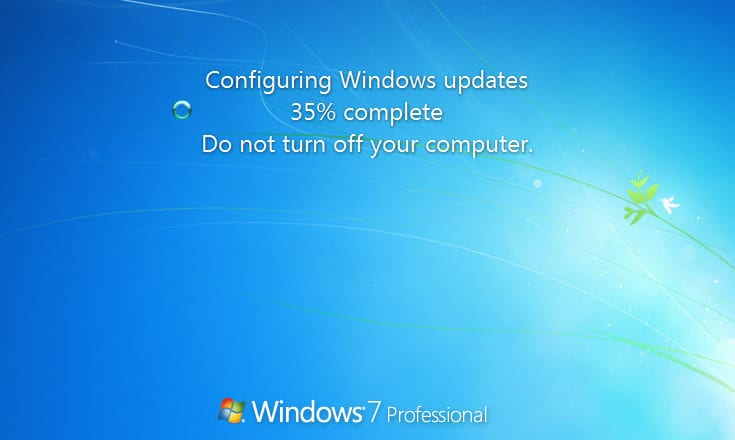 Fixing Stuck in Configuring Windows update Issue on Windows