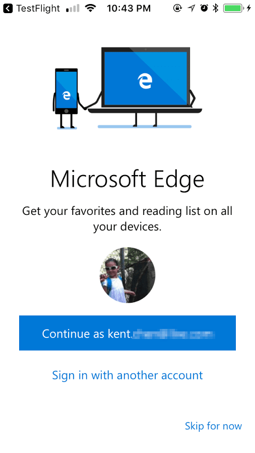 Edge on iPhone - How To Start Testing Microsoft Edge Preview on iOS