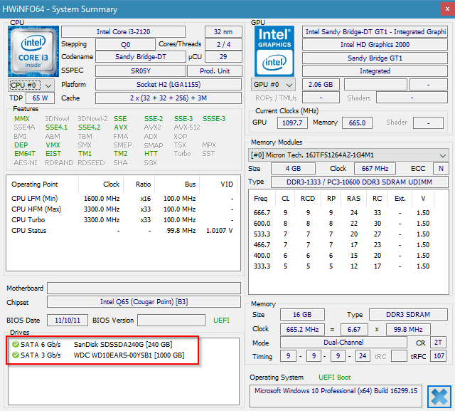 How To Tell the Storage Controller is SATA 2 or SATA 3 on Windows