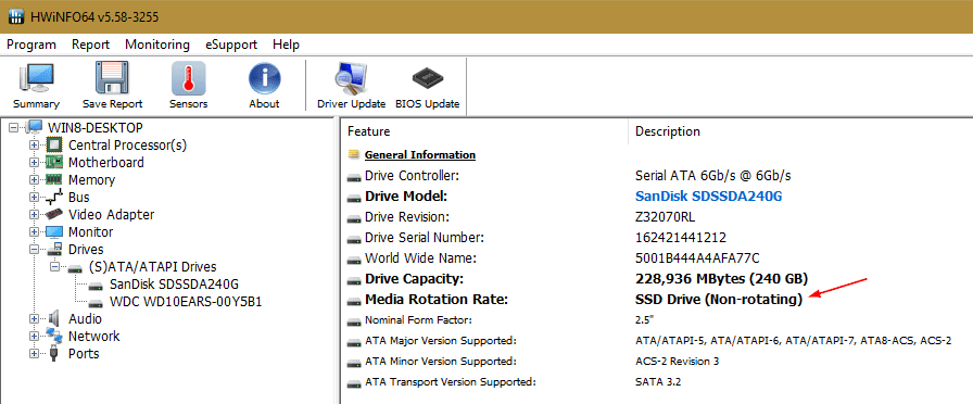 HWiNFO64 v5.58 3255 2017 10 01 23 08 46 - How To Tell If It is the SSD Drive that Runs my Windows 10