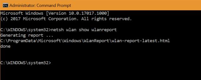 WiFi Report
