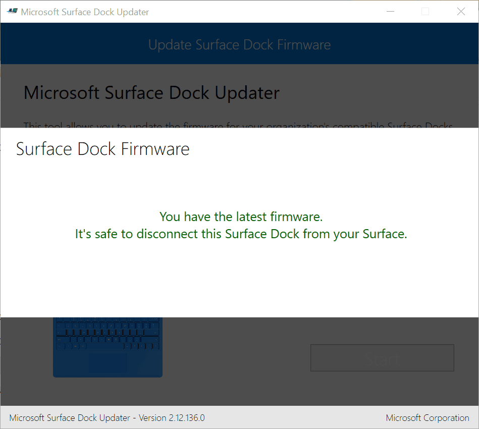 2018 01 30 15 50 33 Microsoft Surface Dock Updater - Get Mini-DisplayPort to Work with DVI on Surface Docking Station