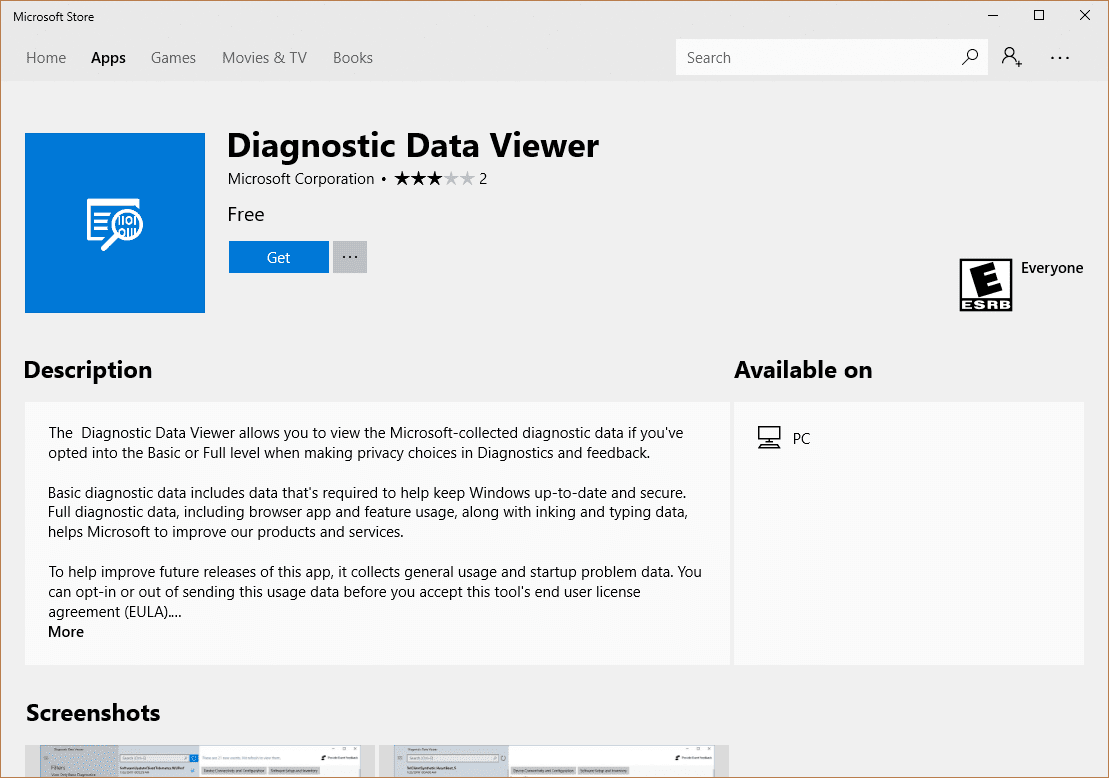 Microsoft Store Diagnostic Data Viewer - How To Use Diagnostic Data Viewer in Windows 10