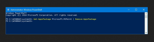 PowerShell remove Paint 3D app - How To Fix Paint 3D Not Available Error with Code 0x803F8001