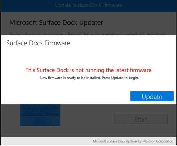 Surface Dock Updater needs update - Get Mini-DisplayPort to Work with DVI on Surface Docking Station