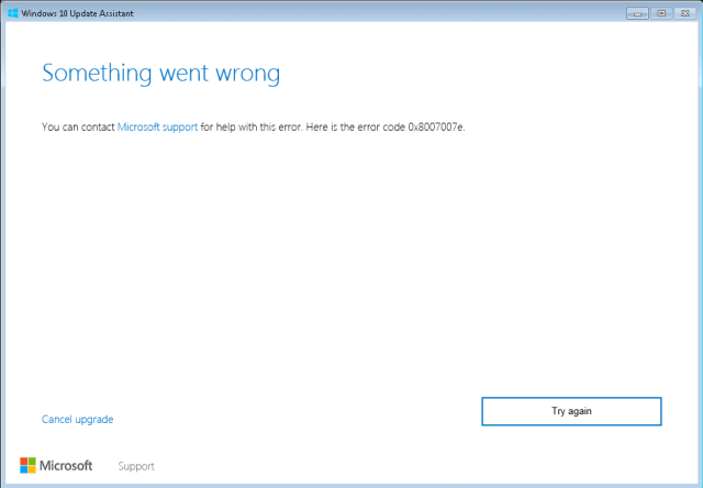 Window 10 Upgrade failed - Fix api-ms-win-core-libraryloader-l1-1-1.dll Missing When Upgrading Windows 7 to Windows 10