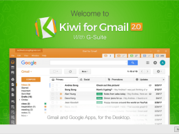 Kiwi – A Native Desktop App for Gmail and G-Suite on Windows