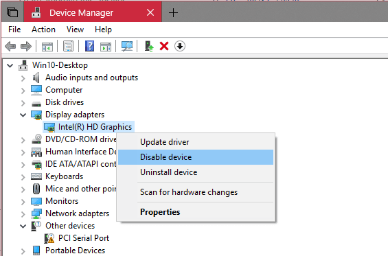 Windows 10 Tip: How To Restart Video Driver without