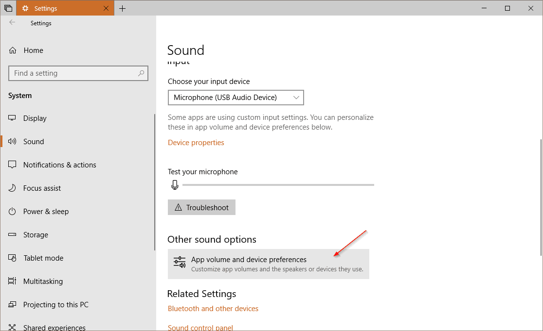 Settings System Sound - Windows 10 Tip: How To Set Up Audio Preferences Per App
