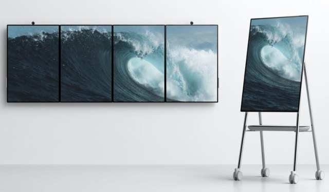 Surface Hub 2 - Surface Hub 2 Revealed, Due in 2019