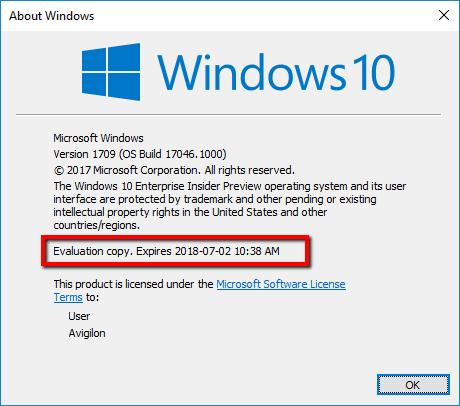 2018 07 09 1020 001 - Keep Windows 10 Insider Build Updated or VirtualBox VM Will Not Start