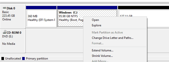 image 18 - What to Do When Extend Volume Option Grayed Out