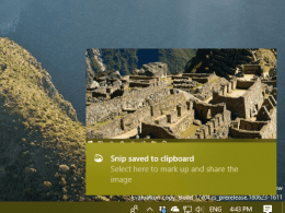 How To Use Screen Sketch to Do A Screenshot on Windows 10