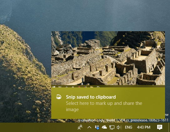 image 3 - How To Use Screen Sketch to Do A Screenshot on Windows 10