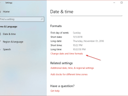 Windows Tip: How To Toggle Time Format between 12/24 Hour