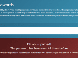 How To Know If My Password has been Compromised before