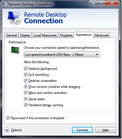 enableaerothemeRDP - [How to] Enable Aero Theme With Remote Desktop and Virtual PC in Windows 7
