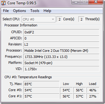 Intel Core 2 duo TEMP - How to Monitor Your CPU Temperature in Windows 7