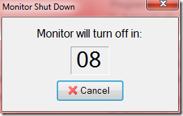 minitor will turn off in - Quickly Turn Off Monitor, Works on both Laptop and Desktop [Tips]