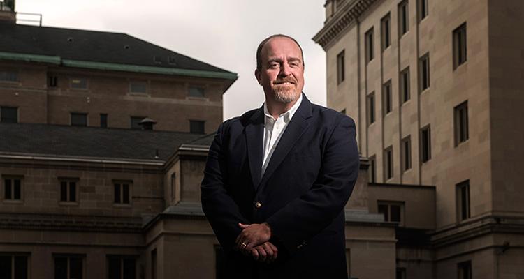 Marc Malandro of the University of Pittsburgh. Photo by Rob Larson