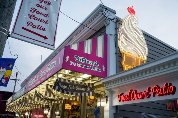 DiFiore's Ice Cream Delite. BC photo.