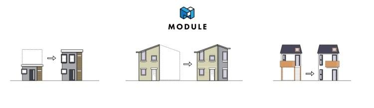 Module elevation diagram. Image courtesy of Brian Gaudio.