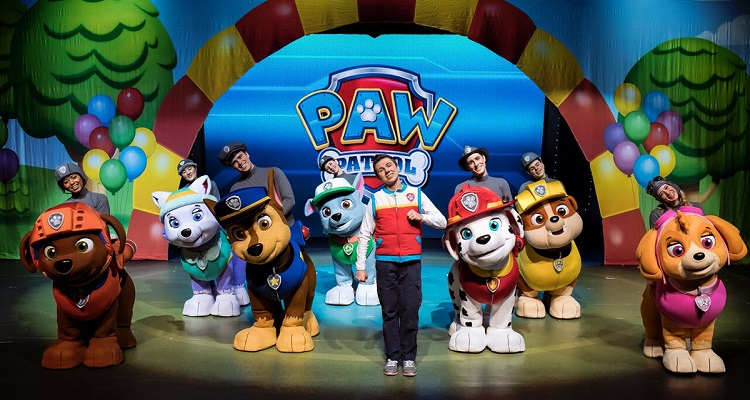 PAW Patrol Live! Image courtesy of VStar Entertainment.