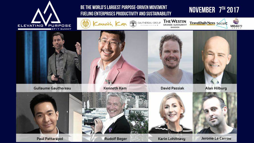 Elevating Purpose Summit 2017 in Bangkok