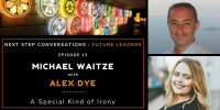 Future Leaders – Episode 13 – Alex Dye – A Special Kind Of Irony