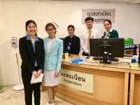 UT Austin And TEAN Interns At Samitivej Hospital
