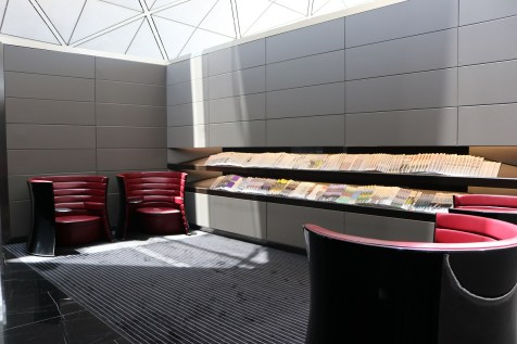 Waiting area - The Wing First Class lounge