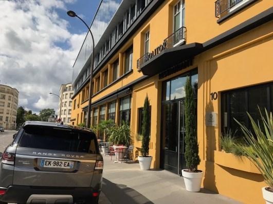 La Brasserie Urbaine entrance
