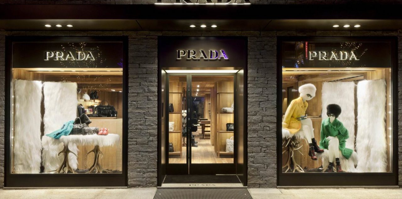 Luxury store in Courchevel